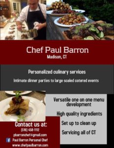 Chef Paul Barron