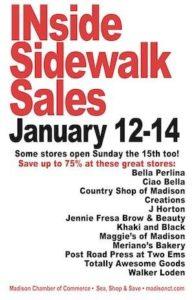 Iside Sidewalk Sales